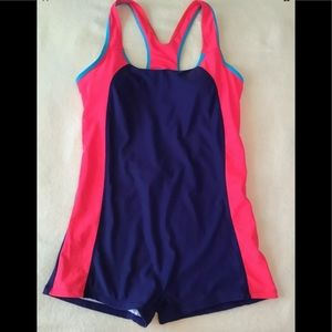 Star Treene Pink Blue One Piece Swimsuit